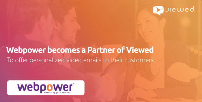 webpower becames a partner of Viewed