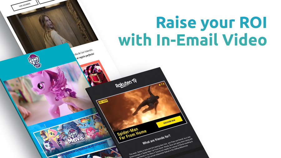 Raise your roi with in-email video